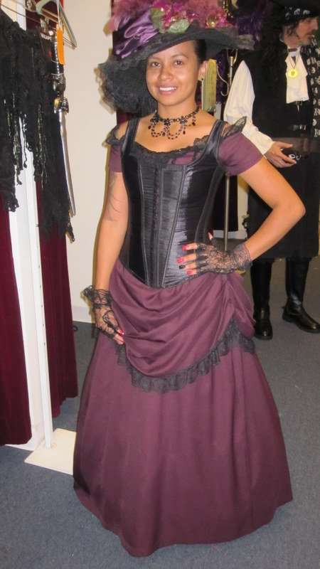 Victorian Female Purple
