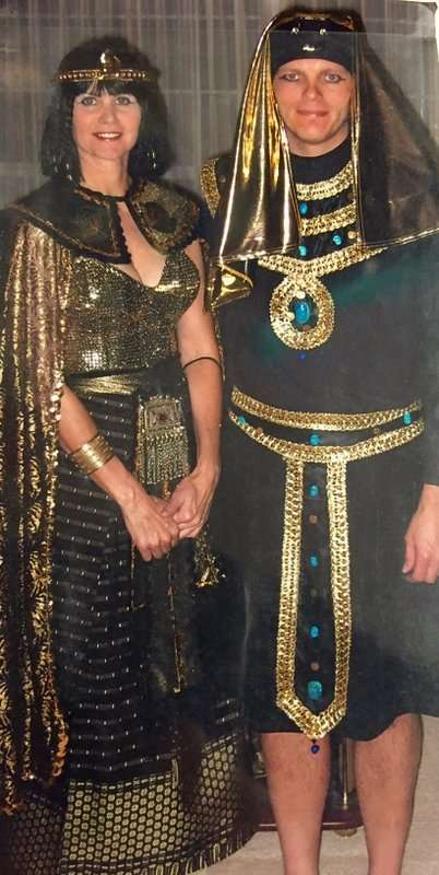 Cleopatra and Pharoah