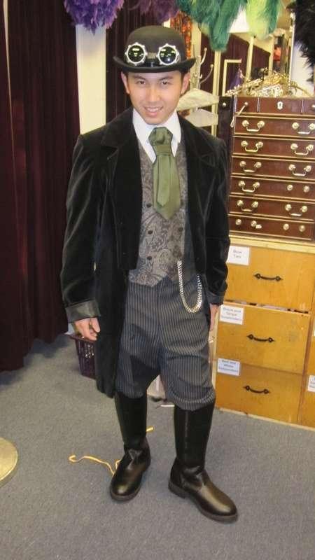 Victorian/Steampunk Gentleman