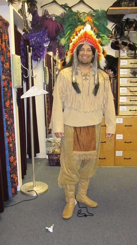 Native American Male