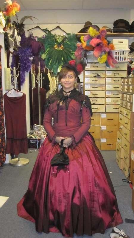Victorian Women Red