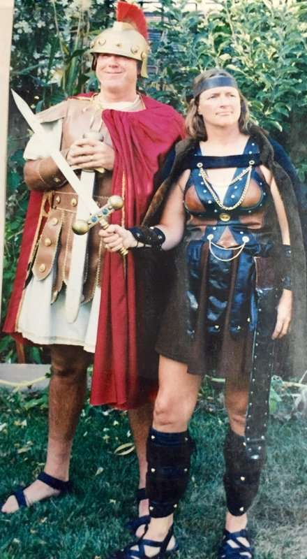 Roman Galdiator and Viking
