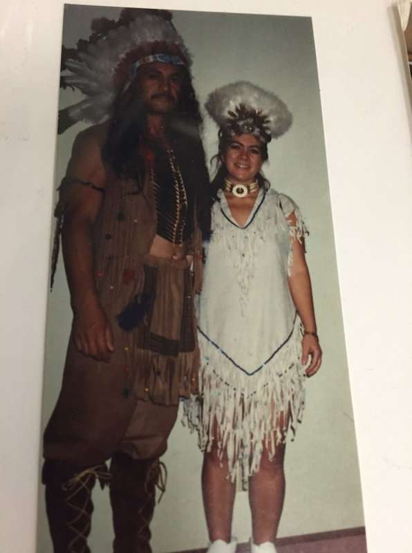 Native American Male and Female