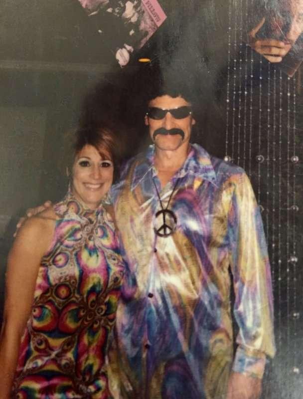 1970's Men and Women Disco