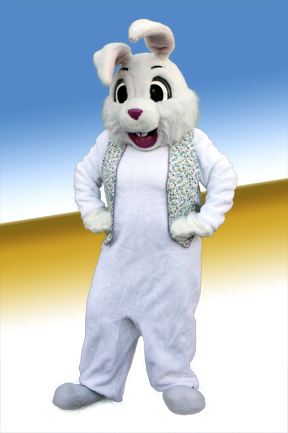 Smiling Easter Bunny